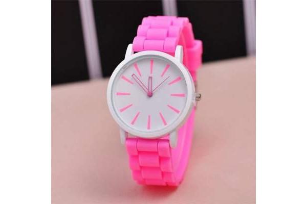Часы русалки на руку розового цвета купить недорого