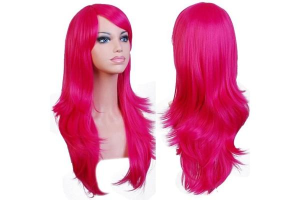 Парик русалочки розового цвета купить недорого