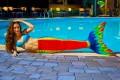 Хвост русалки радуга