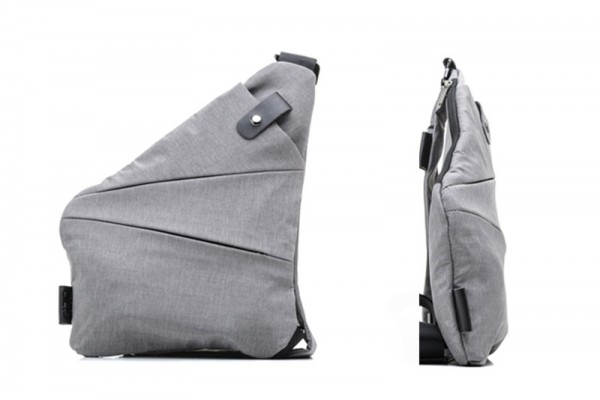 Ультратонкая сумка Fino, светло-серая