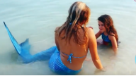 Хвост русалки для плавания из Австралии