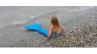 Хвост русалки! Спасибо за настоящий костюм русалки